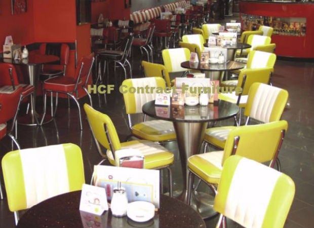 Retro Seating Booths And Retro Chairs And Diner Furniture