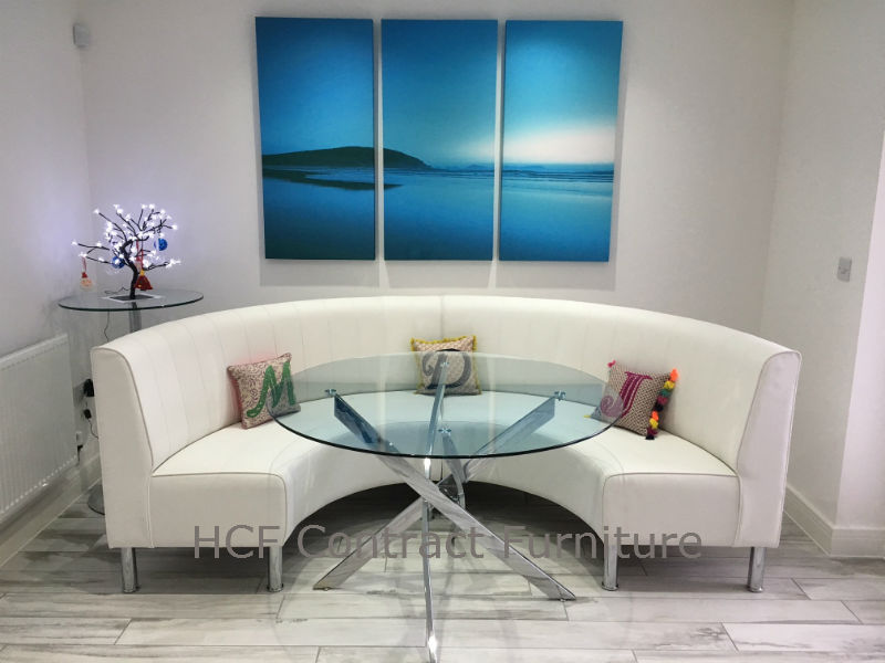 Round Booth And Banquette Seating Circular Or Curved
