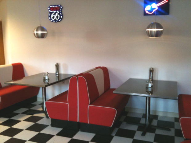 Booth Sets For Restaurants Milk Shake Bars Ice Cream