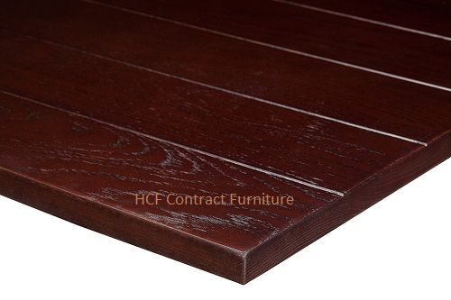 1000mm  x 600mm  x 25mm thick Slat Table Top -3 Colours