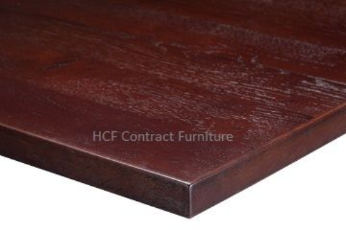1000mm x 600mm x 35mm thick Plank Table Top -3 Colours