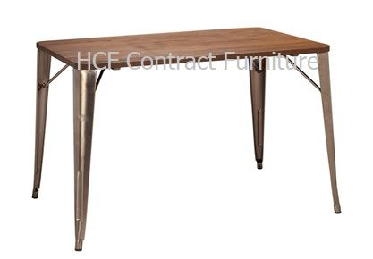 1100mm x 700mm Gun Metal Grey Table (O)