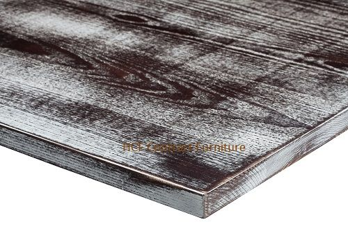 1200mm x 1200mm x 25mm thick Distressed Table Top -8 Colours