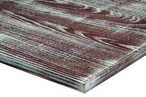 1200mm x 750mm x 25mm thick Distressed Table Top -8 Colours