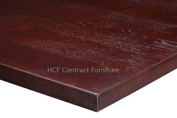 1200mm x 750mm x 35mm thick Plank Table Top -3 Colours