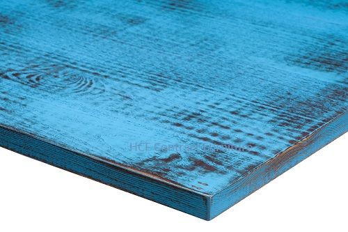 2000mm x 800mm x 25mm thick Distressed Table Top -8 Colours