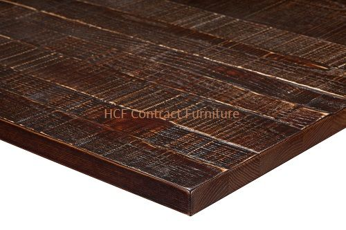 2000mm x 800mm  x 25mm thick Jagged Table Top - 4 Colours