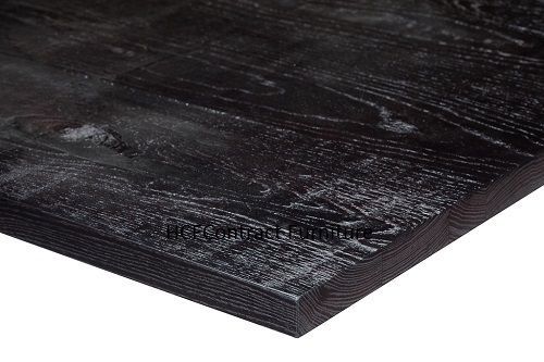 600mm dia Round x 25mm thick Jagged Table Top - 4 Colours