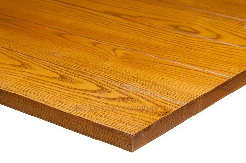 600mm dia Round x 35mm thick Plank Table Top -3 Colours