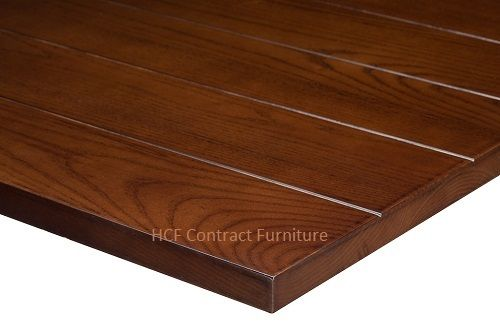 700mm  x 700mm  x 25mm thick Slat Table Top -3 Colours
