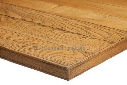 800mm dia Round x 35mm thick Plank Table Top -3 Colours