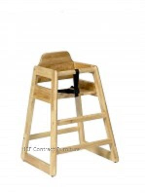 Bambino High Chair - Polished Natural (L)