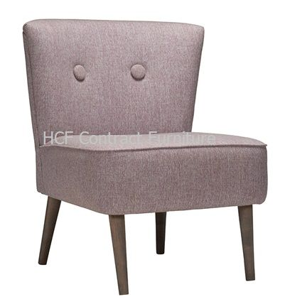 Ethel Float Button Lounge Chair (GF) Finished to Order