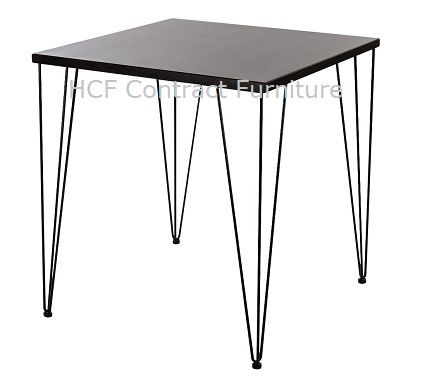 Hairpin Legs - Dining Height  (B)