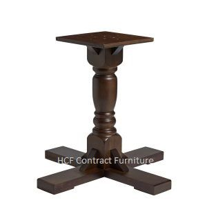 HCF 011L Traditional Pub Style Large Dining Table Base (P)