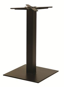 HCF 321D Black Iron Flat Square Medium Dining Table Base (B)