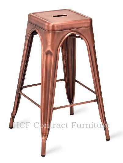 HCF 576 French Bistro High Stool-Vintage Copper(L)