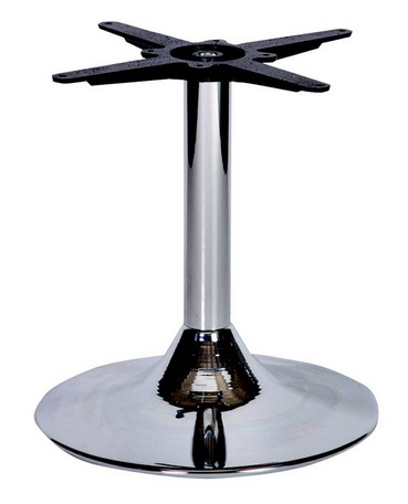 HCF 646Cc Chrome Trumpet Coffee Table Base-Large(B)
