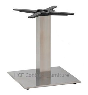 HCF 763Cc Small Square Stainless Steel Base - Coffee Height (O)
