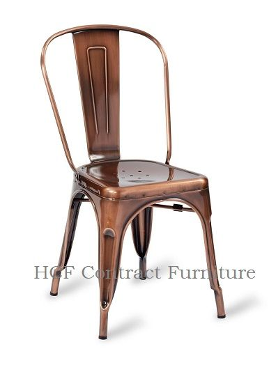 HCF 961 French Bistro Side Chair - Vintage Cooper (L)