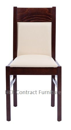 HCF Catania Chair-Walnut Frame - Cream (B)