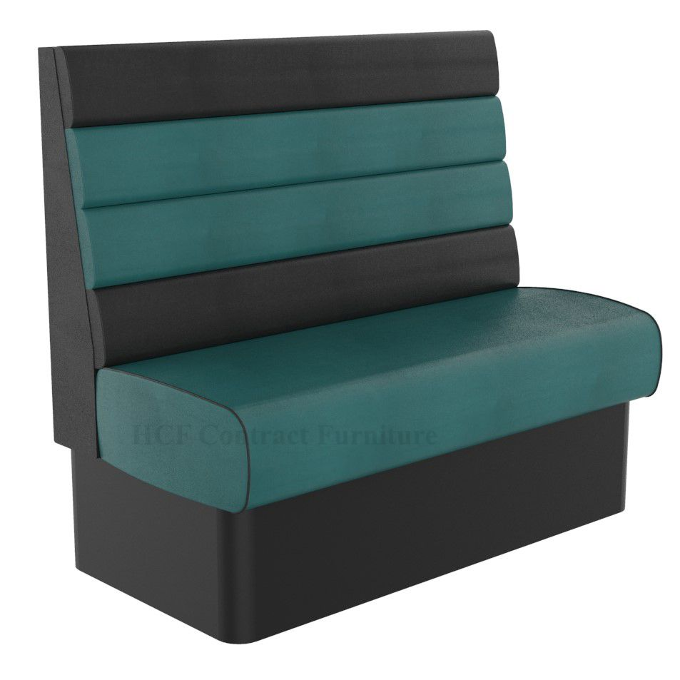 High Back Texas Horizontal Fluted 2 Seater - 1200MM Booth