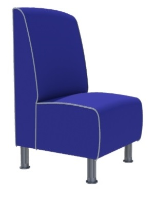 Montana Plain Single Seater - 600M Booth
