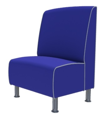 Montana Plain Single Seater - Large 750MM Booth