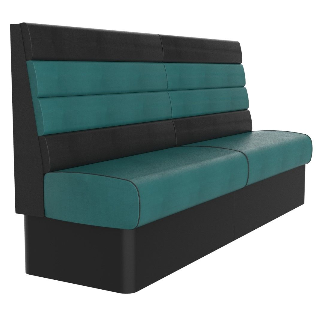 Texas Horizontal Fluted Seating - High Back. NOW only £412 per mtr.