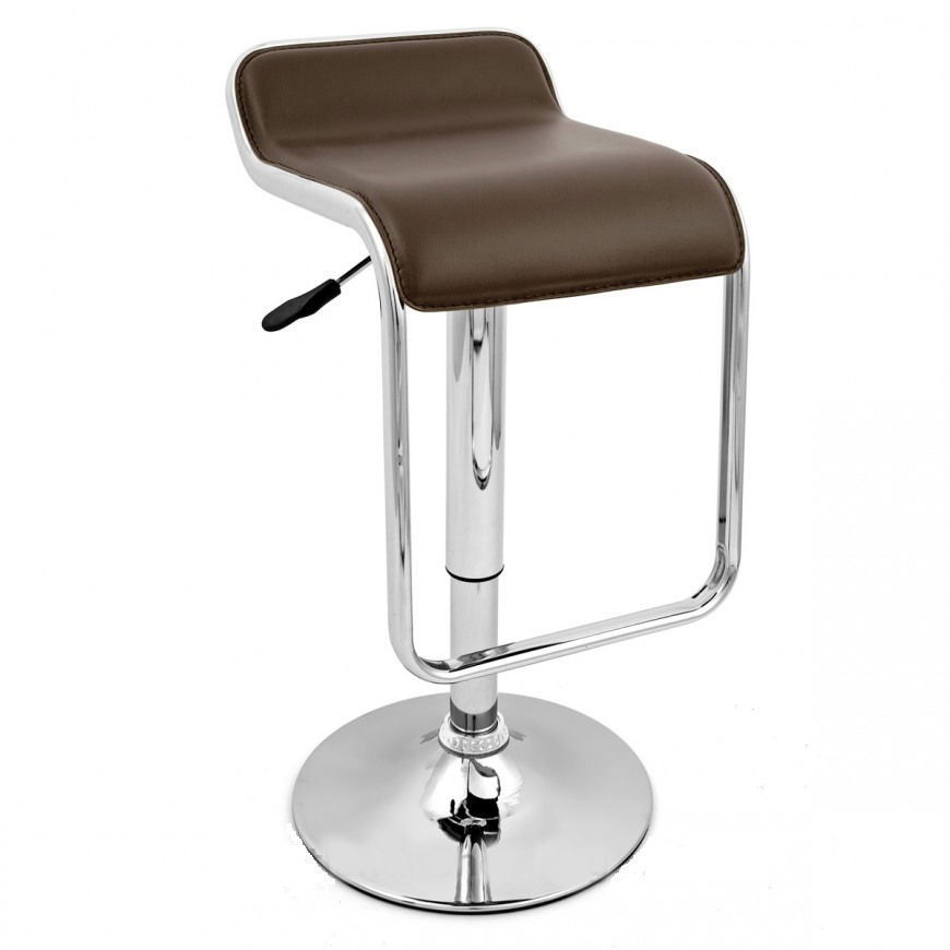 Ttf162 Black Amp Chrome Bar Stool