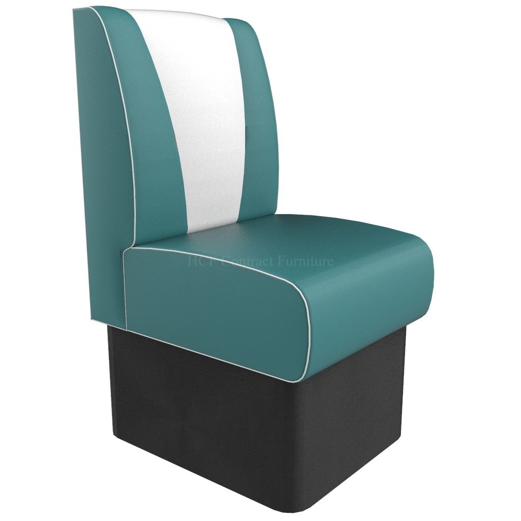 V Back Single Seater - 450MM Booth