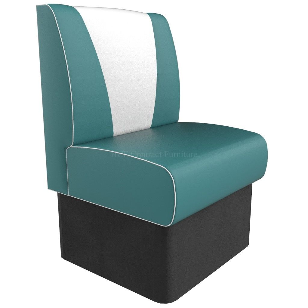 V Back Single Seater - 600MM Booth
